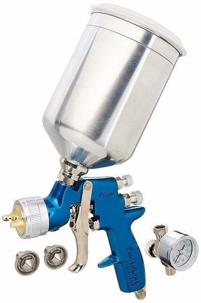 DeVilbiss Finishline 4 FLG-670 Solvent Based HVLP Gravity Feed Paint Gun