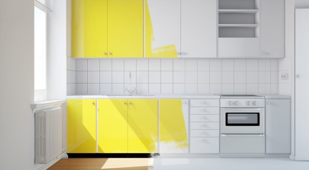 How To Paint Kitchen Cabinets like a Pro