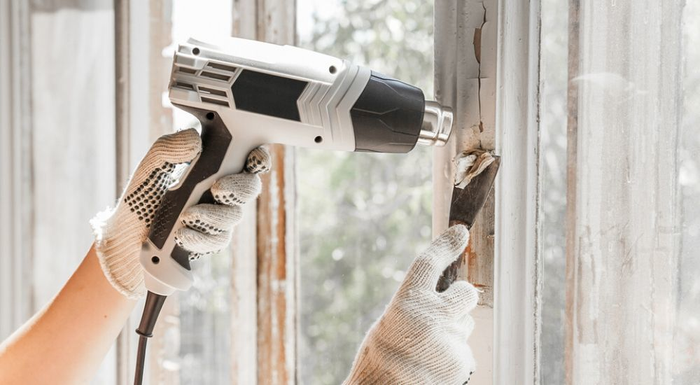 best heat guns for paint removal