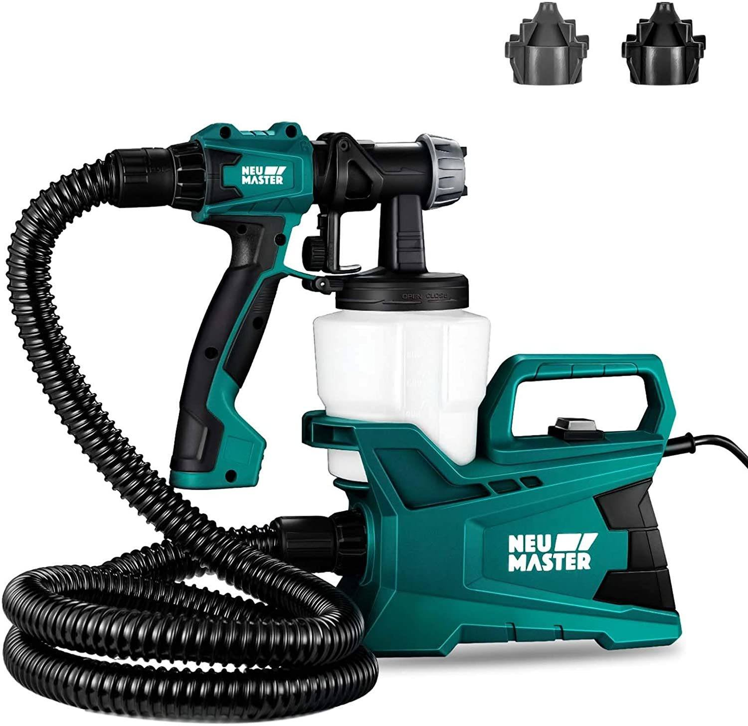 NEU MASTER High Power 600-Watt HVLP Spray Gun