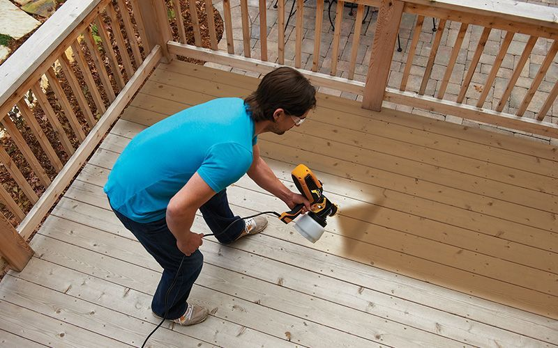 best sprayer for deck stain